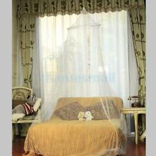 Round Netting Bed Canopy Mosquito Net Perfect Room Decoration for Good Sleeping