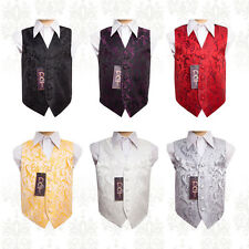 Jacquard Special Occasion Boy's Passion Wedding Waistcoat - Size 2 - 14 Years