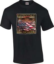 American Soldier Country Duty Family American Way Patriotic Military T-Shirt