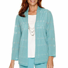 Alfred Dunner Crystal Springs Layered Sweater Size L, PM, PXL Msrp $68.00 New