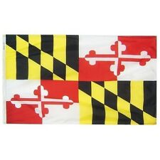 Maryland State Indoor Outdoor Parade Dyed Flag All Larger Sizes