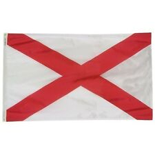 Alabama 1895 State Indoor Outdoor Parade Color Guard Dyed Flag All Larger Sizes