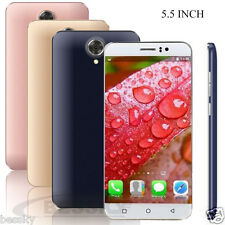"""5.5"""" Unlocked Android 5.1 Cell Phone Quad Core SIM 3G GSM GPS AT&T Smartphone"""