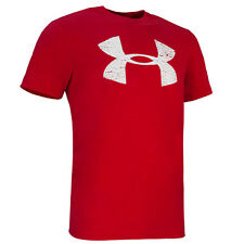 Under Armour Wales Rugby Graphic T-Shirt WRU Short Sleeve Red White 1270190-600