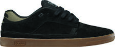 Globe Shoes Lace Up Low shoe The Delta black Suede Rubberband
