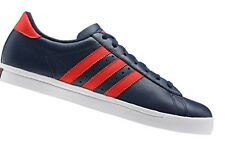 Adidas Mens GREENSTAR Trainers G95597 Navy/red UK 7,11 leather