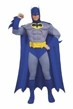Deluxe Adult Batman Muscle Chest Hero Gotham City Halloween Costume 889054