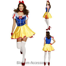 CL951 Fever Fairytale Princess Snow White Fancy Dress Up Party Halloween Costume