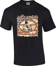 Precision and Speed Barrel Racing Racer Rodeo Horse Cowgirl T-Shirt
