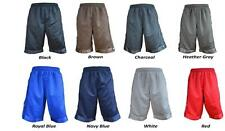 PROCLUB MESH SHORT PANTS GYM HEAVY WEIGHT BASKETBALL MENS JERSEY FITNESS S-7XL