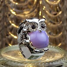 New Hot Girl Creative Fashion Retro Owl Finger Watch Clamshell Ring Watches Gift