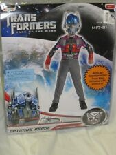 NEW-Transformers Optimus Prime Child Costume With Coodinating Trick Or Treat Bag