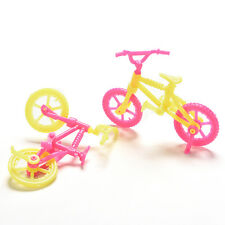 2/5/10x Bicycles Bikes Mini Toy for Barbie Accessories Girls Birthday Gift