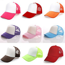 New Style Fashion Men/Women Trucker Cap Baseball Golf Mesh Adjustable Hats