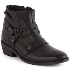 H by Hudson Vow Womens Ankle Boots Black New Shoes