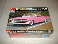 1962 PONTIAC CATALINA CUSTOM- AMT PLASTIC MODEL KIT#6135 - NOS - FACTORY SEALED