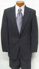 Mens Gray Tuxedo Stroller Jacket w/ Hickory Stripe Pants Victorian Wedding 41L