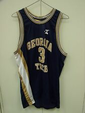 GEORGIA TECH YELLOW JACKETS STEPHON MARBURY BASKETBALL JERSEY MENS SIZE XL