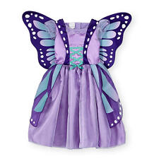 Koala Kids Girls Aqua/Purple Butterfly Halloween Costume - Toddler