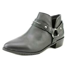 Kelsi Dagger Vermont Women  Round Toe Leather Black Bootie