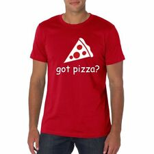 Got Pizza ??? Red T-shirt - Adult Sizes