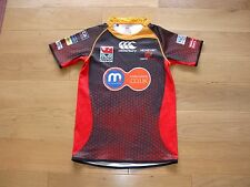 Canterbury Newport Gwent Dragons Rugby Union Shirt/top/jersey/child 14 years