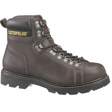 Mens CAT Espresso Alaska Techniflex® Leather Work Boot P70961 Size 5-16 (D, M)