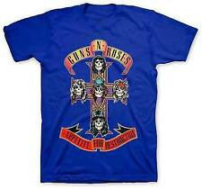GUNS N ROSES GNR CROSS APPETITE FOR DESTRUCTION MUSIC ROCK METAL SHIRT S-2XL