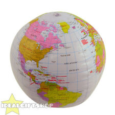 INFLATABLE GLOBE WORLD PARTY BLOW UP FANCY DRESS PROP DECORATION SUMMER HOLIDAY