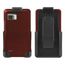 Seidio SURFACE Case and Holster Combo for Motorola DROID Bionic XT875 Burgundy