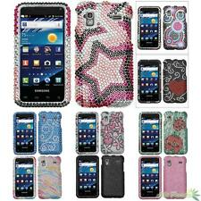 Phone Protector Case Cover For SAMSUNG I927(Captivate Glide) Bling Rhinestones