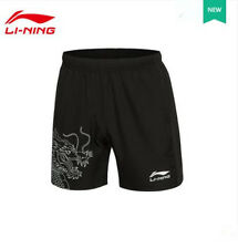 2016 Li Ning men's table tennis clothing Badminton sports Dragon shorts