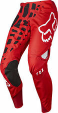 2017 Fox Racing Mens 360 GRAV Pants RED Motocross MX ATV Off Road 17244-003