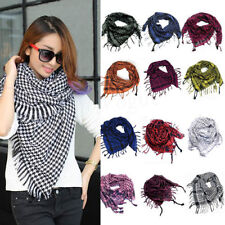 Fashion Unisex Women Men Arab Shemagh Keffiyeh Palestine Scarf Shawl Wrap New