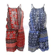 Sexy Womens Backless Holiday Mini Playsuit Ladies Jumpsuit Summer Beach Dress