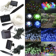 Various Solar Powered String Fairy Light For Xmas Chirtmas Party 20/100/200 LED