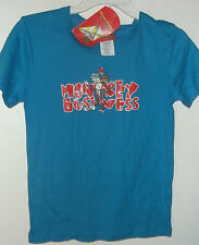 NWT CURIOUS GEORGE T SHIRT   MONKEY BUSINESS  JR SIZE SMALL