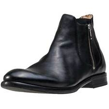 H by Hudson Mitchell Mens Chelsea Boots Black New Shoes