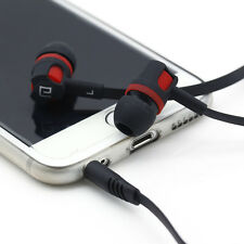 3.5mm Bass Stereo In-Ear Earphone Headphone Headset W/Mic For iPhone HTC MP3 US