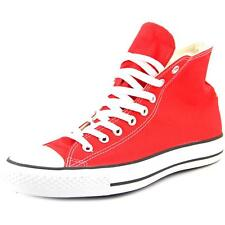 Converse Chuck Taylor All Star Core Hi Men  Round Toe Canvas Red Sneakers NWOB