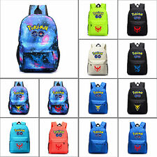 Boys Team Valor Instinct Mystic School Bag Pack Laptop Backpack Travel Rucksack