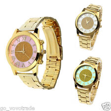 Luxury Mens Womens Watches Quartz Analog Dress Stainless Steel Wrist Watches New