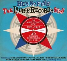 He's So Fine: The Laurie Records Story [Digipak] by Various Artists (CD,...