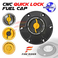 FRW BK/GD CNC Quick Lock Fuel Cap For Triumph Tiger 800 / XC All Years