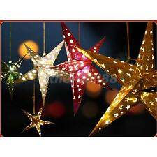 40-90cm Colorful Star Lampshade Paper Lantern Hanging Wedding Xmas Party Decor