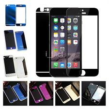 Front+Back Mirror Tempered Film Glass Case Cover Screen Protector For iPhone ACA