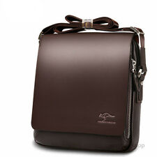 Kangaroo Leather Crossbody Fashion Mens Shoulder Bag Messenger Briefcase