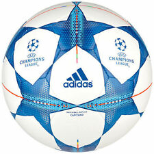 Adidas Champions League 2015 Match Ball Replica Football Size 4 5 - White & Blue
