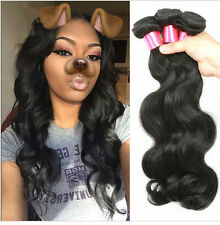 3 Bundles Weave Peruvian Virgin Hair Human Hair Extensions Body Wave 100g per