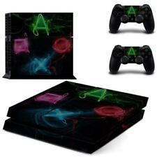 Various Skin Sticker Decor For Sony Playstation 4 Console Controller Decal Set